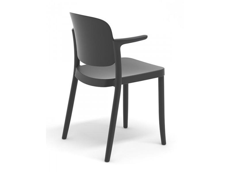 Sedia con braccioli Piazza2