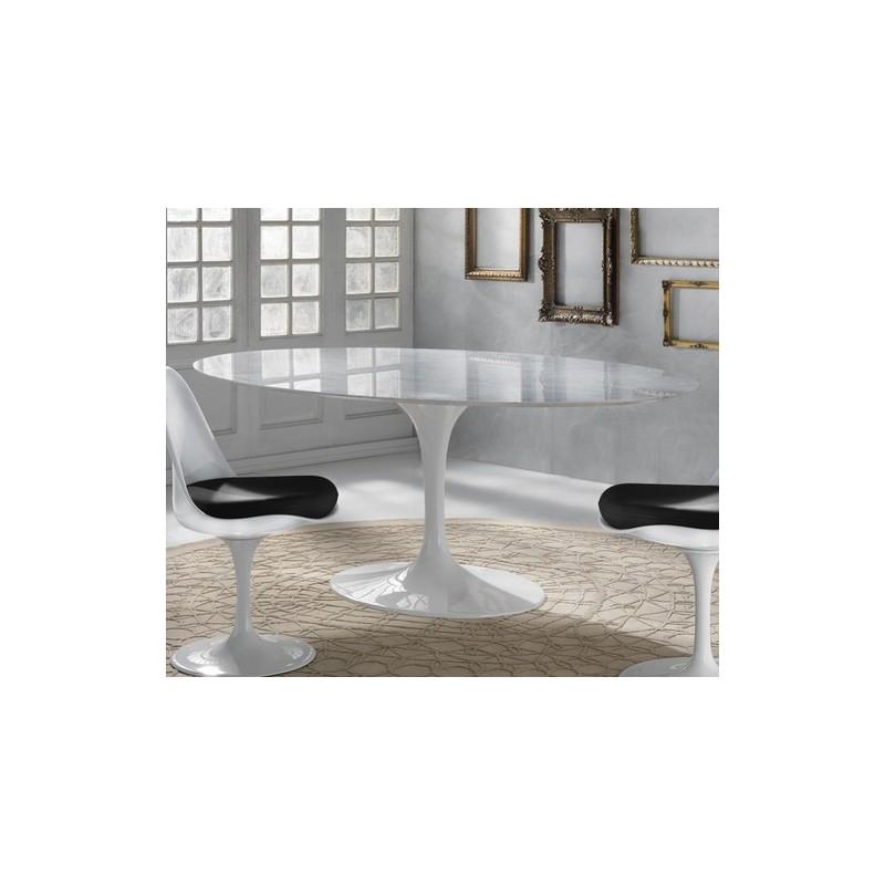 Tavolo tulip marmo di carrara - Tavolo marmo design ...