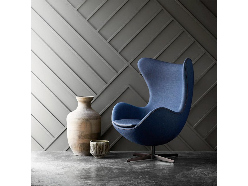 Poltrona Egg Chair Pelle/ Cashmere