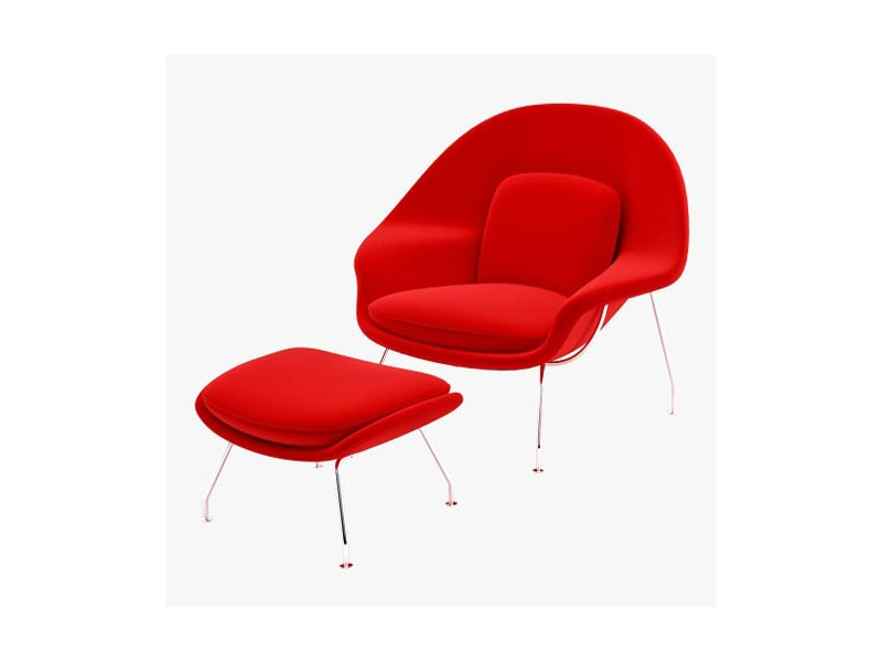 Ottoman/Pouf Womb Chair Art.122