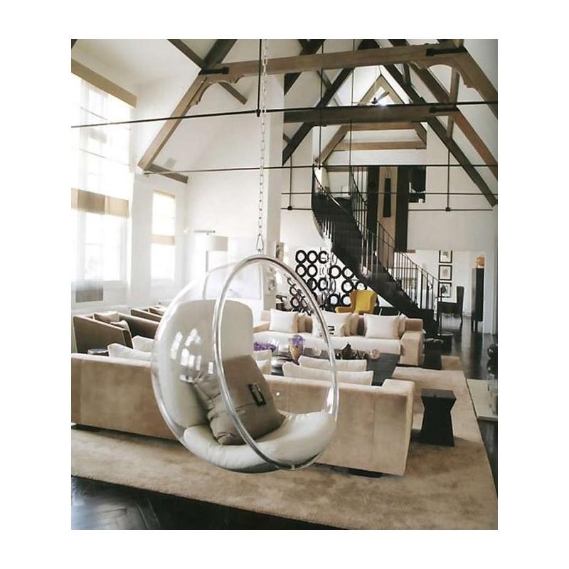 Poltrona Sospesa Bubble Chair.Poltrona Hanging Bubble Chair Da Soffitto