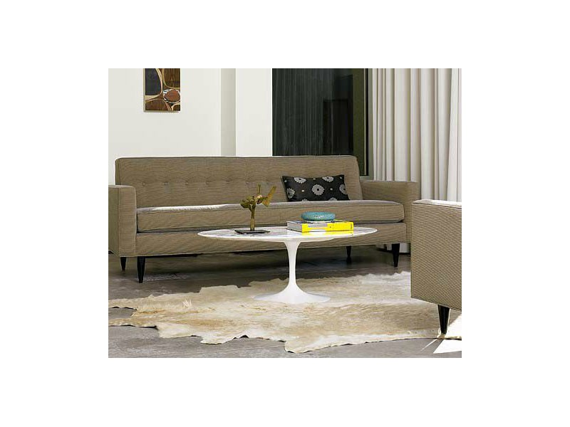 Tavolino Tulip Coffee Table Laminato Liquido