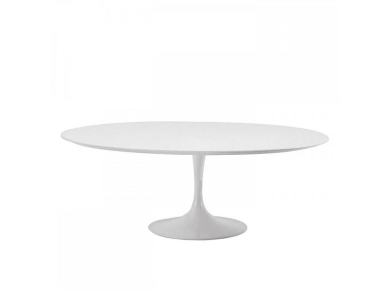Tavolino Tulip Coffee Table Laminato Liquido