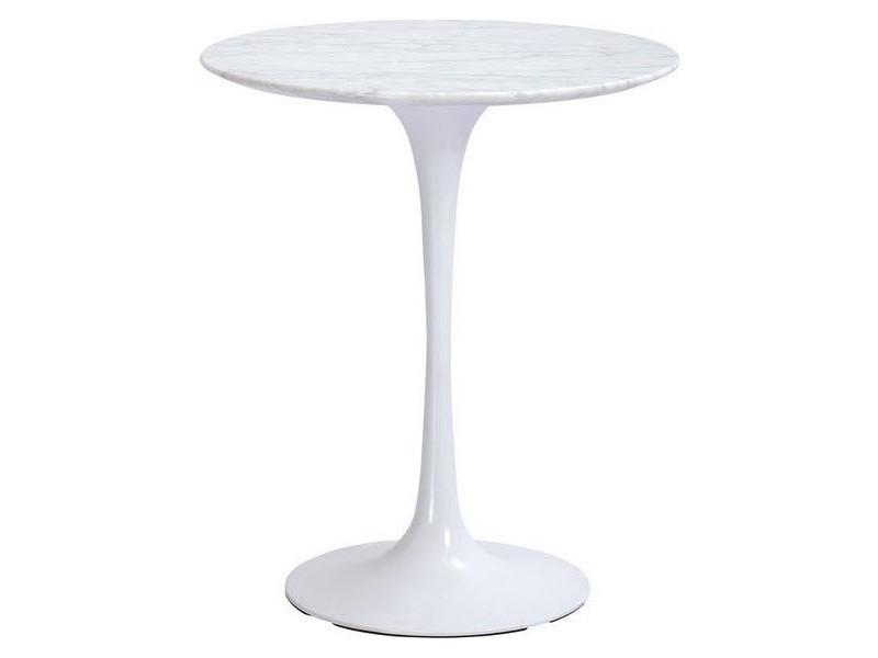 Tavolino Tulip Coffee Table Marmo di Carrara varie misure