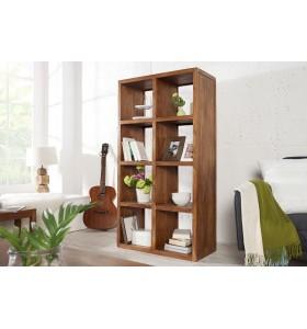 Libreria in legno Sheesham 150 cm