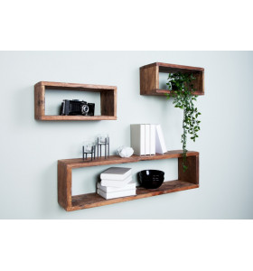 Libreria My Space Teak 3 cubi