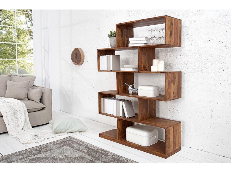 Libreria in legno Sheesham XL