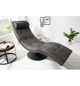 Chaise longue LUX NERA