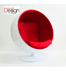 Poltrona BALL CHAIR in tessuto