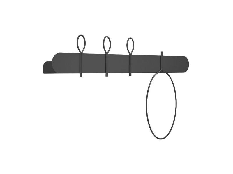 Mensola/Appendiabiti BALLON 60 cm