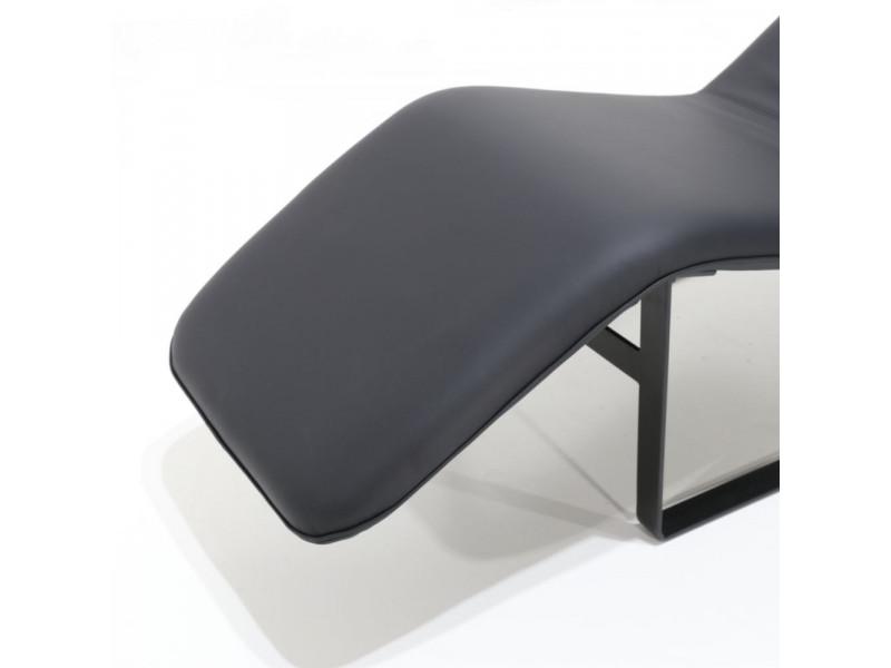 Chaise Longue ARCHI in pelle o tessuto vari colori