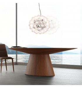 Tavolo MERIDIANS ovale 240 x 110 cm