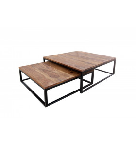 Tavolino in LEGNO SIX