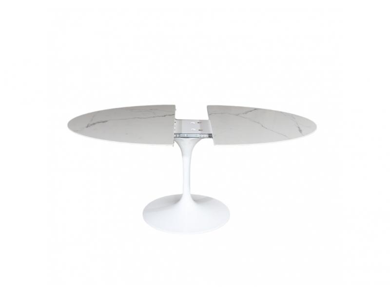 Tavolo CERAMIC ALLUNGABILE, Base in Fusione di Alluminio varie misure
