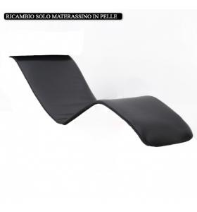 Ricambio solo Materassino in pelle per Chaise Longue ART.2491