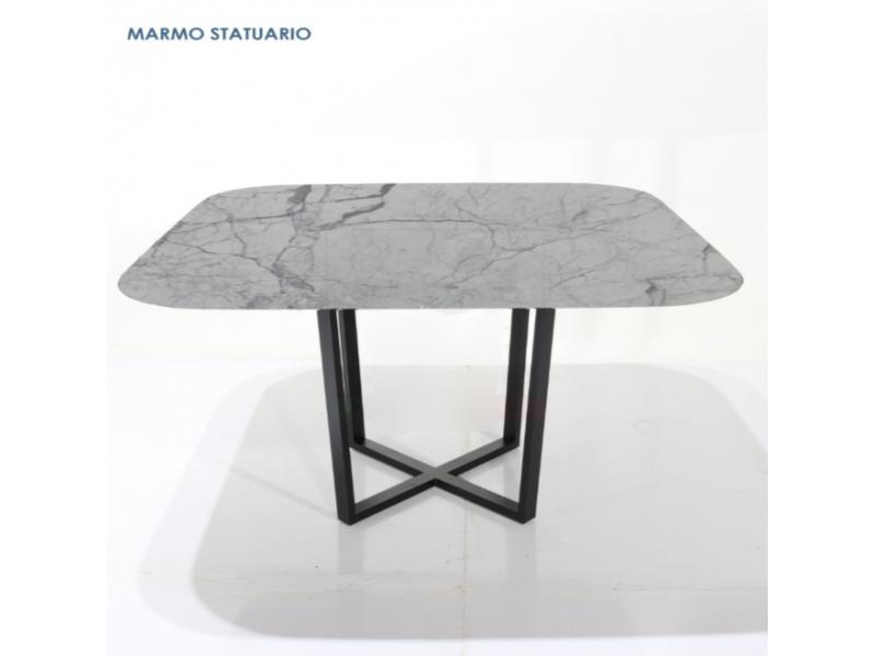 Tavolo AVA Quadrato in marmo varie misure