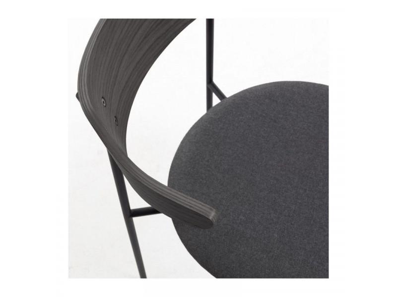 Sedia OLIMPUS seduta in pelle o tessuto colori a scelta