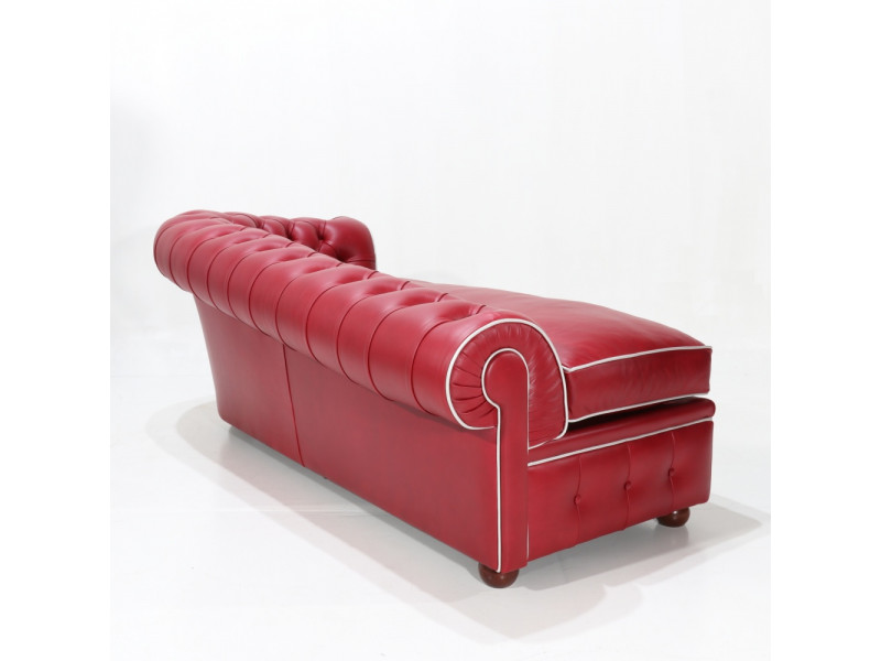 Chaise longue CHESTER Dark coffee