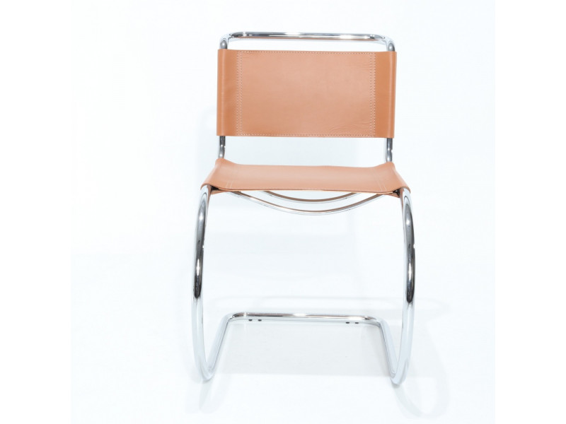 Sedia in Cuoio CURVA in vari colori
