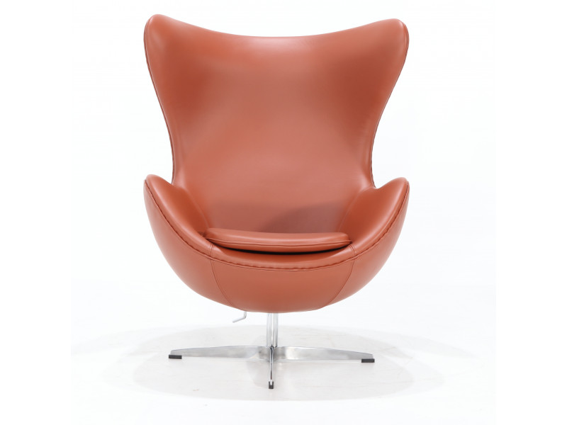 Poltrona Egg Chair Pelle/ Cashmere