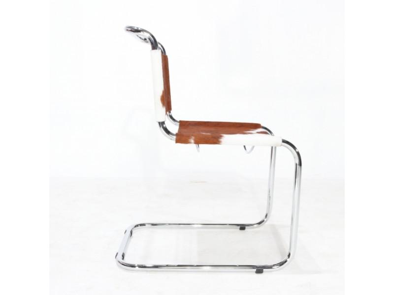 Sedia Stam & Breuer senza braccioli in cavallino