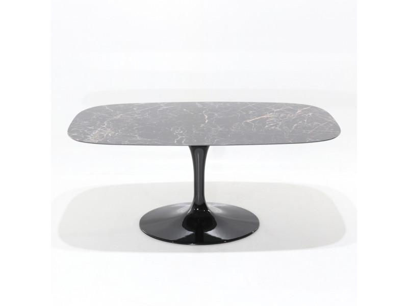 Tavolo Tulip Table Laminato Liquido