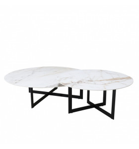 Coppia Tavolini CERAMIC TWINS