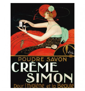 Quadro d'autore CREME SIMON su tela canvas
