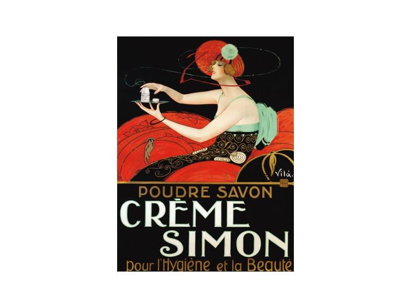 Quadro d'autore CREM SIMON su tela canvas