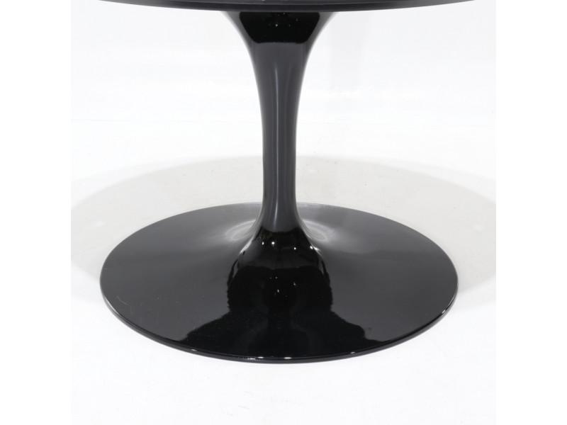 Tavolo Tulip Botte Laminato Liquido Nero o Bianco in varie misure