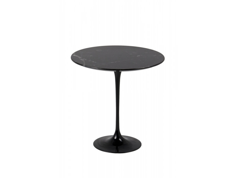 Tavolino Tulip Coffee Table Marmo Nero Marquinia
