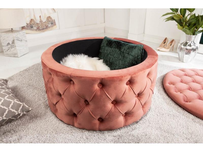 Pouf SALONE CONTENITORE 75 cm rosa