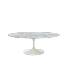 Tavolino Tulip Coffee Table in Marmo di Carrara varie misure