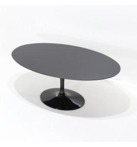 Tavolo Tulip Table Laminato Liquido nero invarie misure