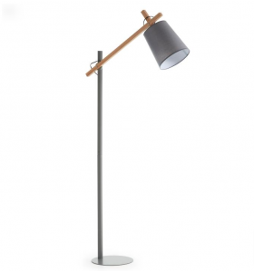 lampada da terra gray