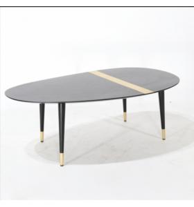 Tavolino EDRA in legno MDF ed ottone