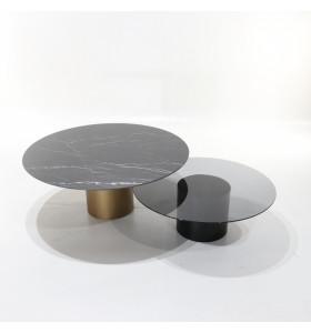 Set 2 Tavolini ANDROMEDA in ceramica