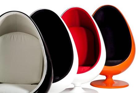 Poltrona iEgg Chair ispirazione Bauhaus Designer