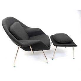Poltrona Womb Chair + Ottoman